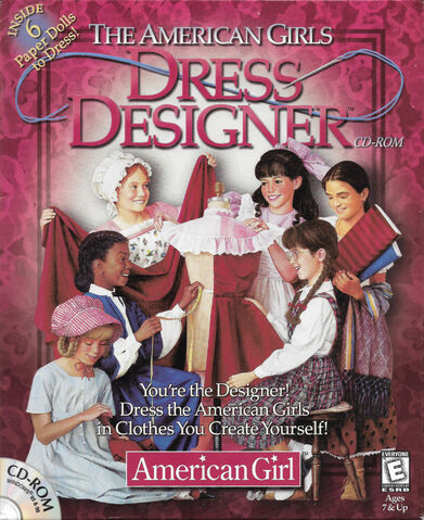 File:The American Girls Dress Designer cover.jpg