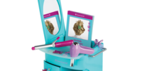 Truly Blue Hairstyling Caddy