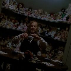 Spalding and his dolls