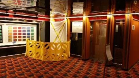 Cruise Ship Horror, Blood On Cruise Ship