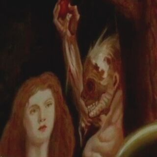 Constance's Painting from Episode Spooky Little Girl