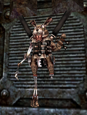 March Hare as one of Hatter's test subjects