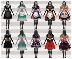 Domain dresses