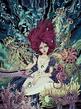 Alice underwater