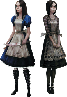 Alice's dress designs