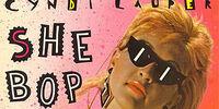 Cyndi Lauper:She Bop