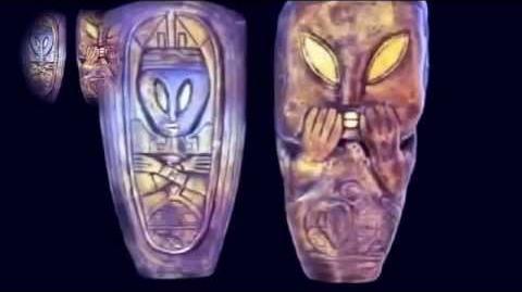 Maya artéfacts la porte triangulaire du Soleil avec Nassim Haramein