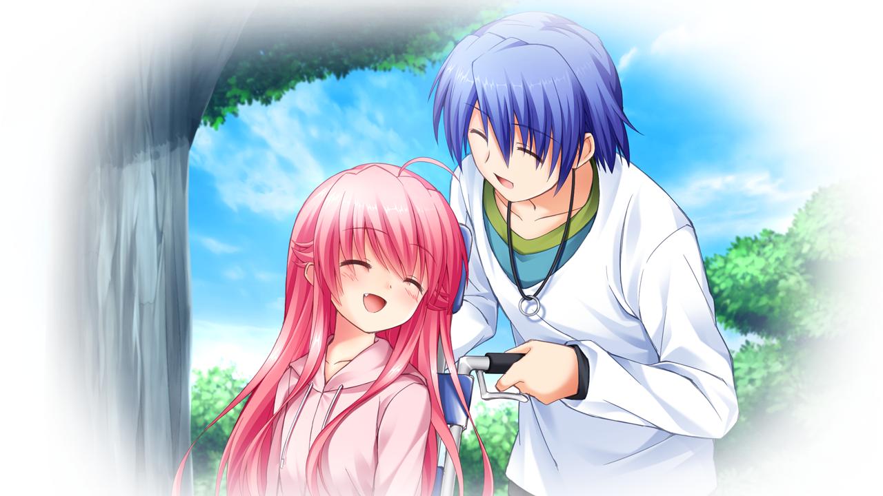 Yui And Hinata Angel Beats Ichiban no Taka...