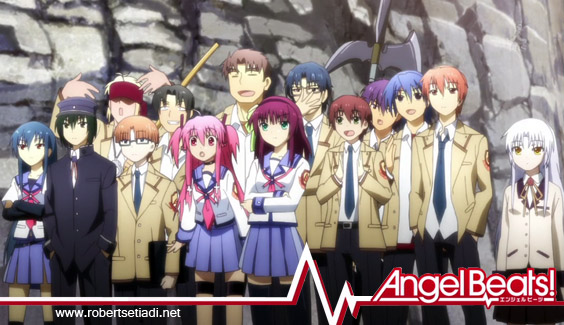 Image result for anime angel beats
