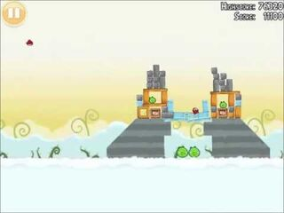 Official Angry Birds Walkthrough Danger Above 8-5