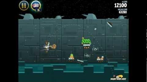 Angry Birds Star Wars 2-40 Death Star 3-Star Walkthrough