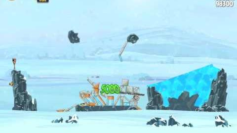 Angry Birds Star Wars 3-15 Hoth 3-Star Walkthrough