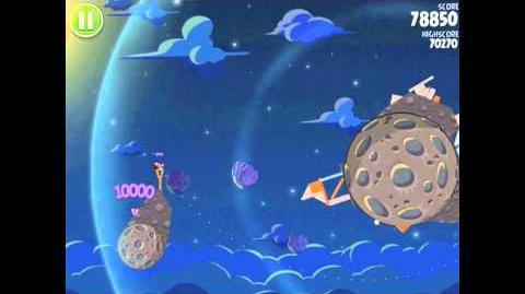 Angry Birds Space Pig Bang 1-24 Walkthrough 3-star