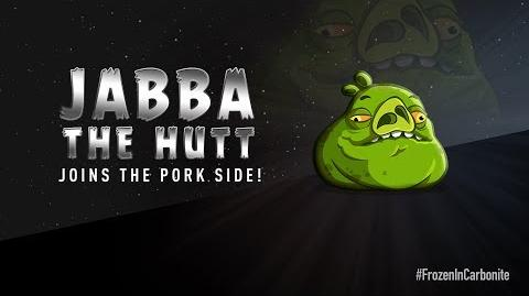 NEW! Angry Birds Star Wars 2 Carbonite Pack character reveals Jabba The Hutt