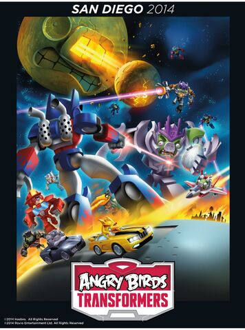 File:Angry Birds Transformers Comic Con poster 2.jpg