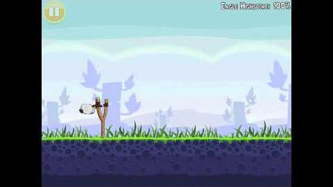 Angry Birds Mighty Eagle Walkthrough 1-15