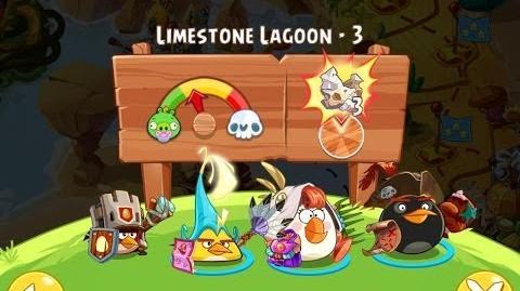 Angry Birds Epic Limestone Lagoon Level 3 Walkthrough
