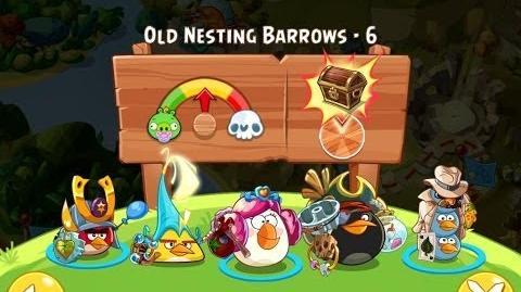 Angry Birds Epic Old Nesting Barrows Level 6 Walkthrough