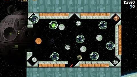 Angry Birds Star Wars 6-2 Death Star 2 Walkthrough 3 Stars