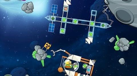 Angry Birds Space Beak Impact 8-18 Walkthrough 3 Star