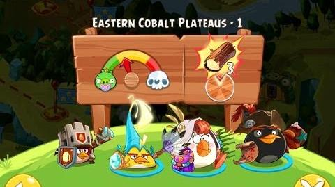 Angry Birds Epic Eastern Cobalt Plateaus Level 1 Walkthrough