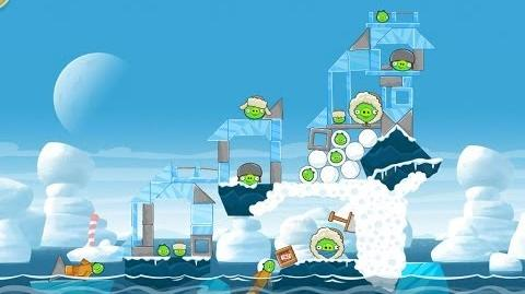 Angry Birds Seasons Arctic Eggspedition 1-17 Walkthrough 3 Star