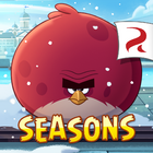 Angry Birds Seasons Square Icon On Finn Ice
