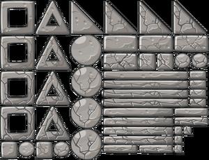 Виды каменных блоков
