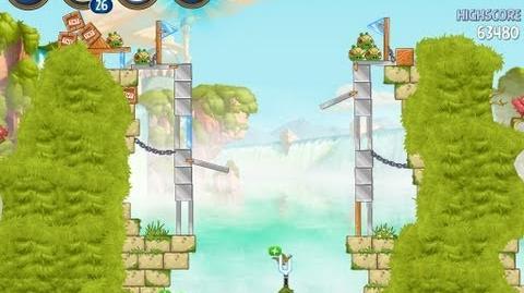 Angry Birds Star Wars 2 Level B1-16 Naboo Invasion 3 star Walkthrough