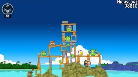 Angry Birds 29-1 Flock Favorites 3-Star Walkthrough