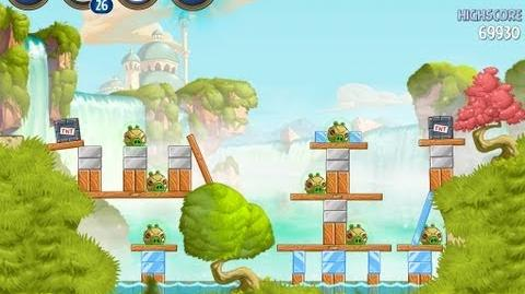 Angry Birds Star Wars 2 Bonus Level B1-S1 Naboo Invasion 3 star Walkthrough