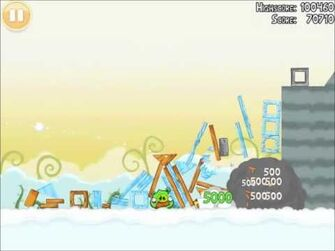 Official Angry Birds Walkthrough Danger Above 8-8