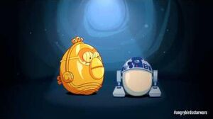 Angry Birds Star Wars R2-D2 & C-3PO - exclusive gameplay