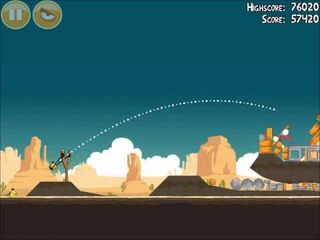 Official Angry Birds Walkthrough Ham 'Em High 13-14