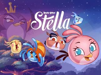 Angry Birds Stella Loading Screen