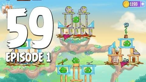 Angry Birds Stella Level 59 Walkthrough Branch Out Episode 1