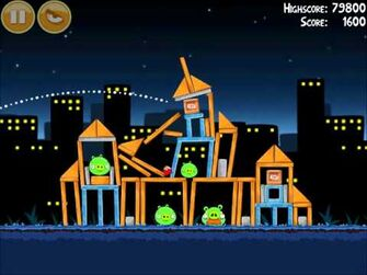 Official Angry Birds Walkthrough Danger Above 7-5