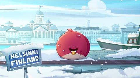 Angry Birds Seasons On Finn Ice - Teaser