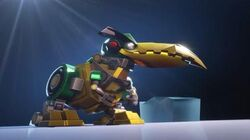 Angry Birds Transformers Hal as Grimlock!