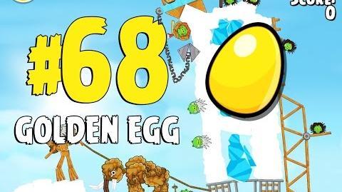 Angry Birds Seasons Ski or Squeal Golden Egg 68 Walkthrough
