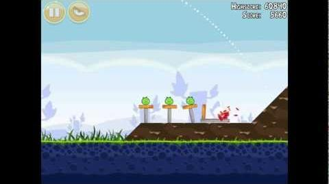 Angry Birds Poached Eggs 1-2 Walkthrough 3 Star