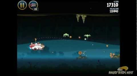 Angry Birds Star Wars 3-40 Hoth 3-Star Walkthrough