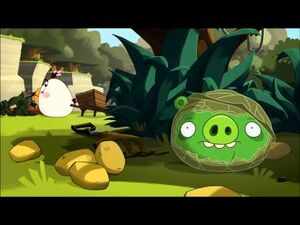 "Angry Birds Toons episode 27 sneak peek ""Green Pig Soup"""
