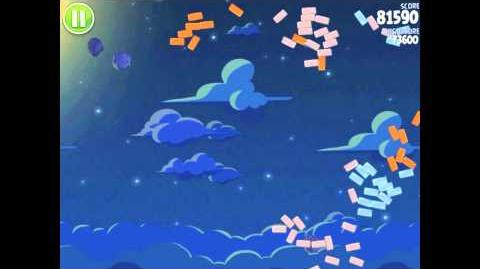 Angry Birds Space Pig Bang 1-14 Walkthrough 3-star