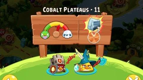 Angry Birds Epic Cobalt Plateaus Level 11 Walkthrough