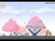 Official Angry Birds Seasons Walkthrough Hogs and Kisses 1-11