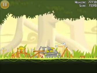 Official Angry Birds Walkthrough The Big Setup 11-4