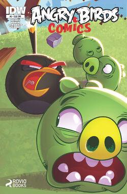Angry bids comics -8 sub ver cover