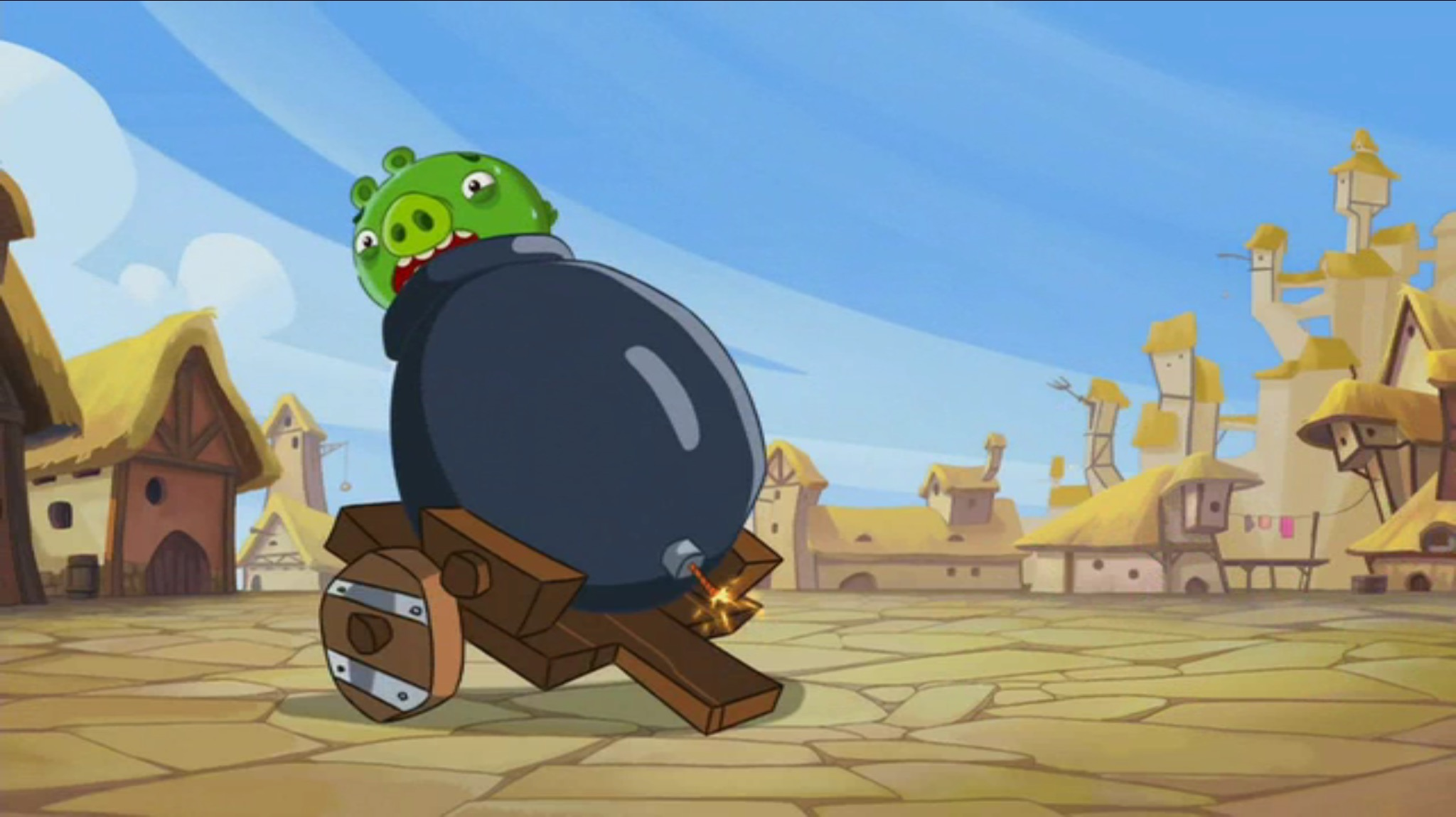 File:SNEEZY DOES IT PIGGY ON CANNON.jpg