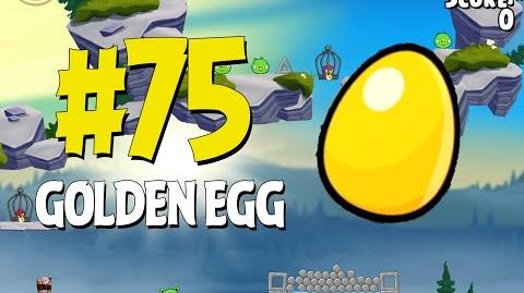 Angry Birds Seasons Summer Camp Golden Egg 75 Walkthrough